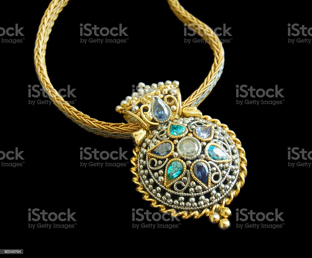 beautiful necklace royalty-free stock photo