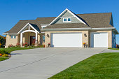 Beautiful New Mixed Materials Ranch Style Home