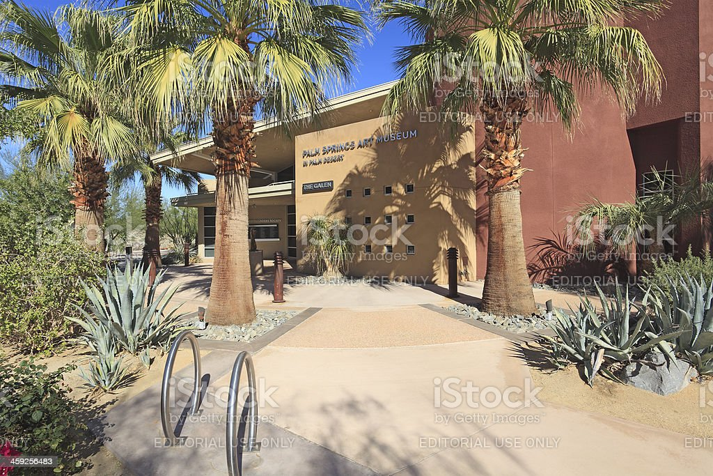 Beautiful New Palm Springs Art Museum royalty-free stock photo