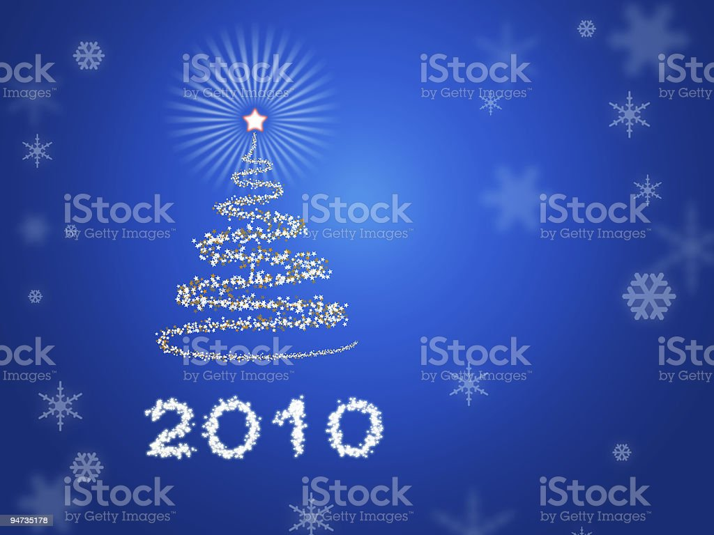 Beautiful New Year background royalty-free stock photo