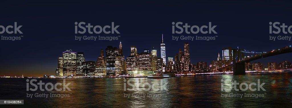 beautiful New York City stock photo