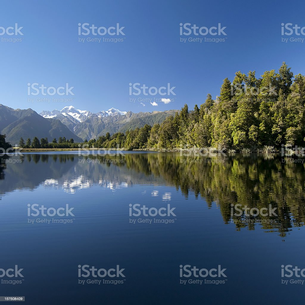 Beautiful New Zealand stock photo