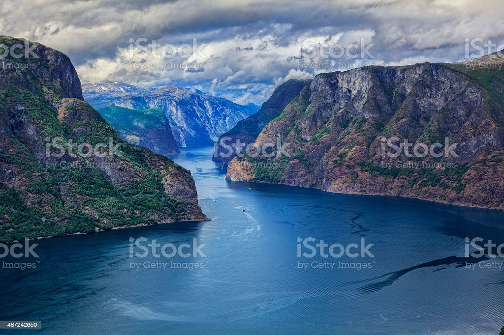 Beautiful Norway stock photo