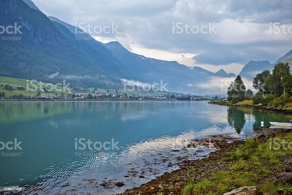 Beautiful Norway royalty-free stock photo