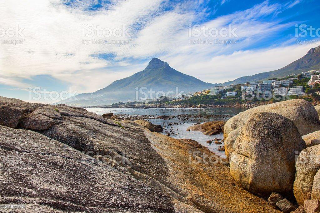 Beautiful Ocean in Cape Town stock photo