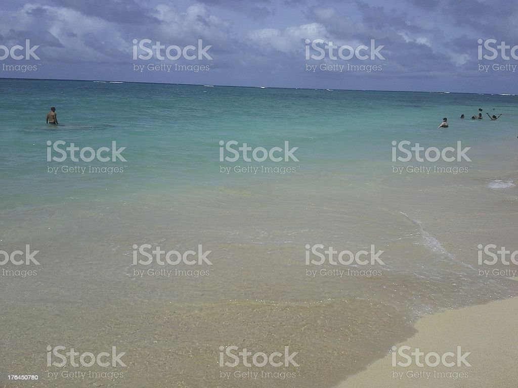 Beautiful ocean royalty-free stock photo
