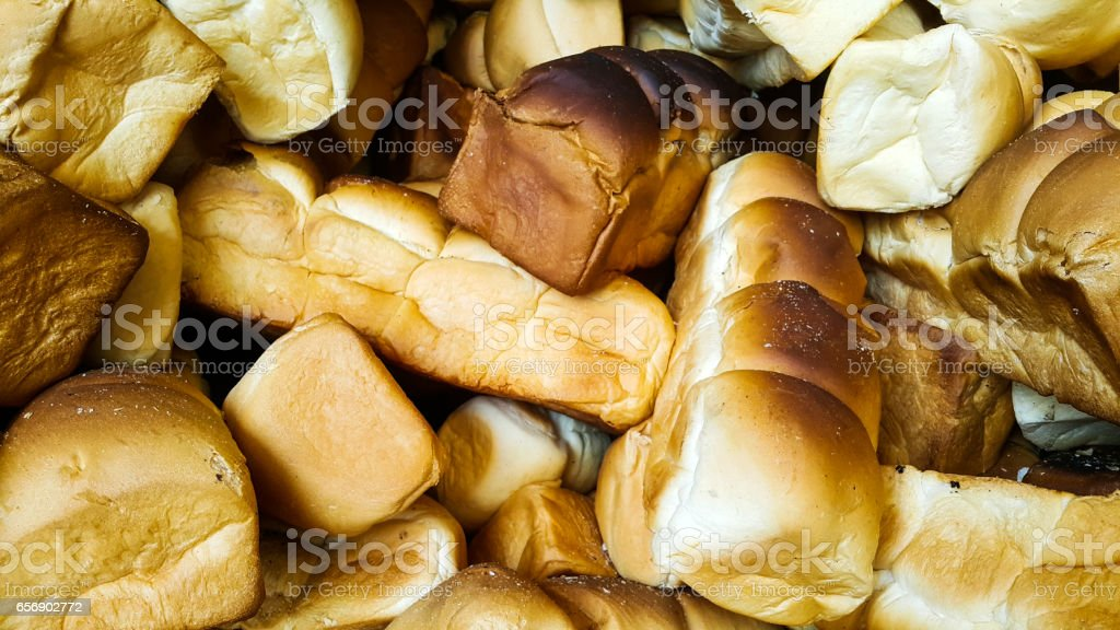 Beautiful of skull breads stock photo