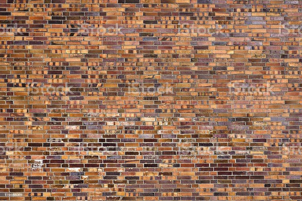 Beautiful old brick wall stock photo