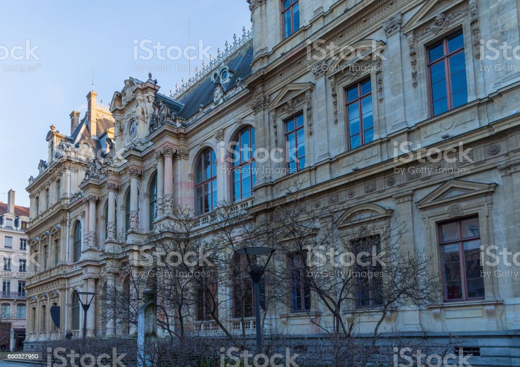 Beautiful old building stock photo