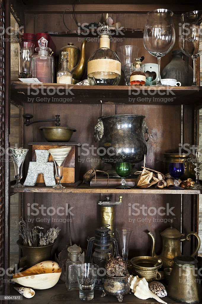 beautiful old objects royalty-free stock photo