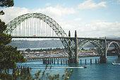 Beautiful Oregon Coast Bridge