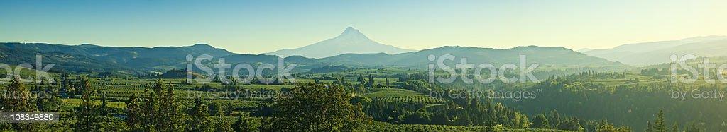 Beautiful Oregon Pano stock photo