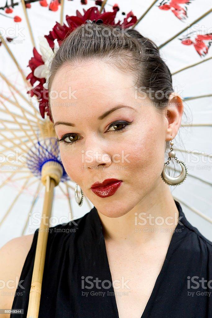 Beautiful Oriental Woman royalty-free stock photo