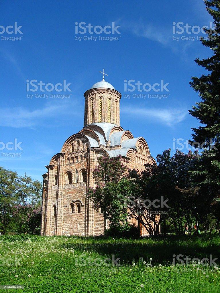 Beautiful orthodox church stock photo