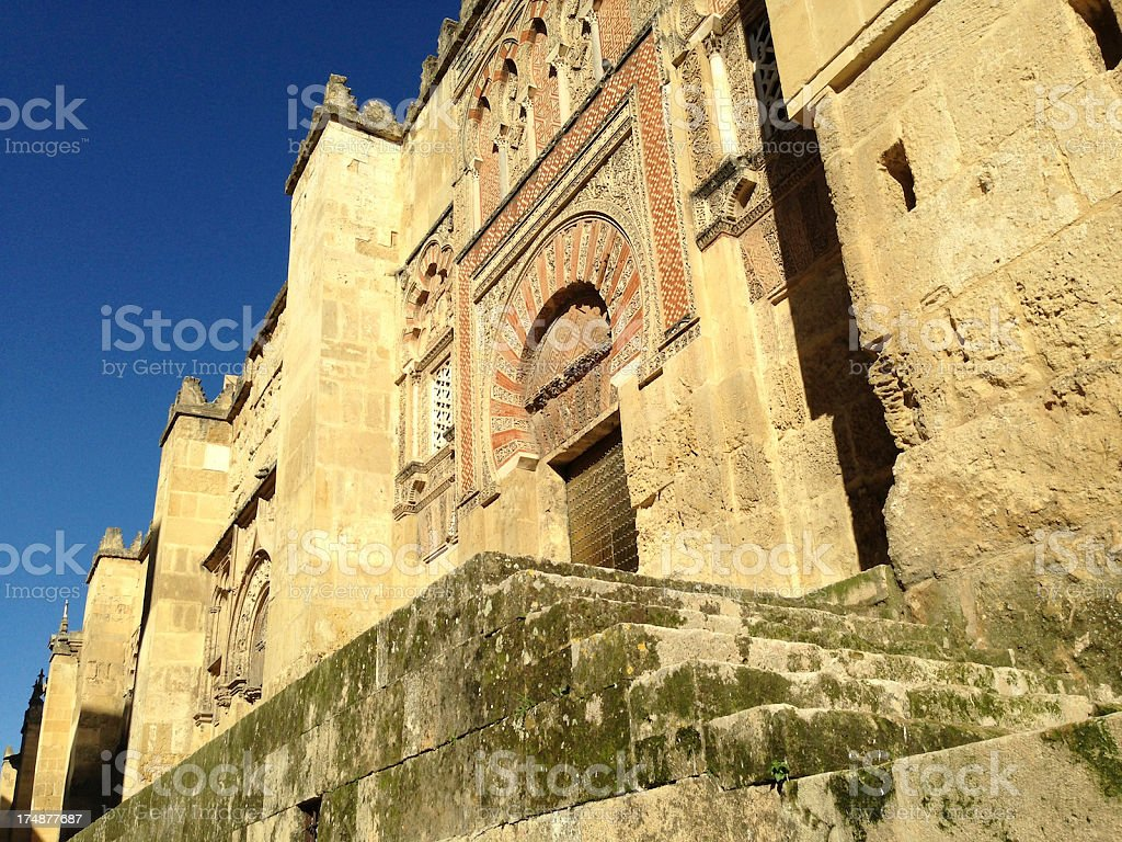 Beautiful Mezquita Exterior royalty-free stock photo
