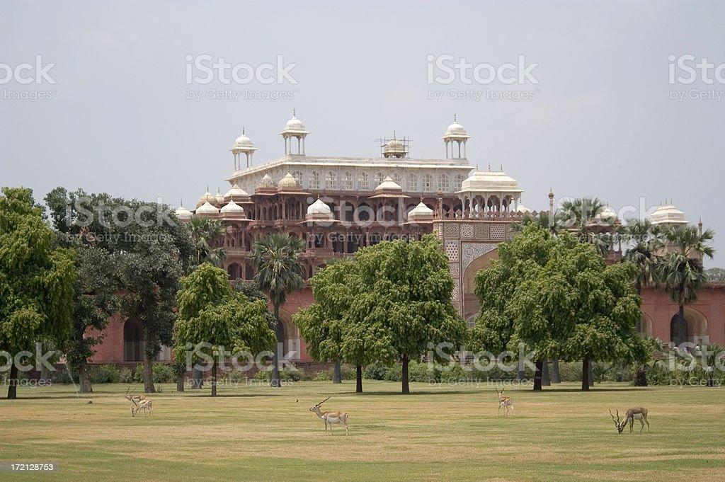 Beautiful palace in New Delhi - India royalty-free stock photo