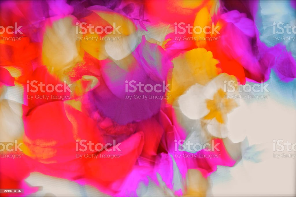 Beautiful pantone cloured hues stock photo