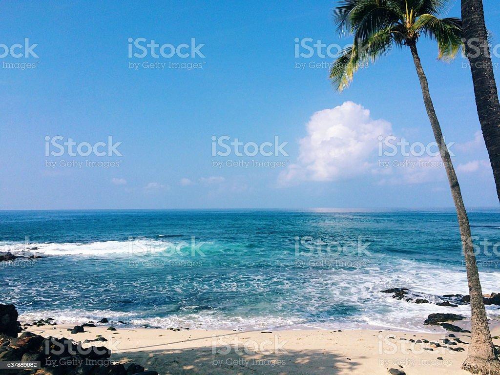 Beautiful Paradise Beach stock photo