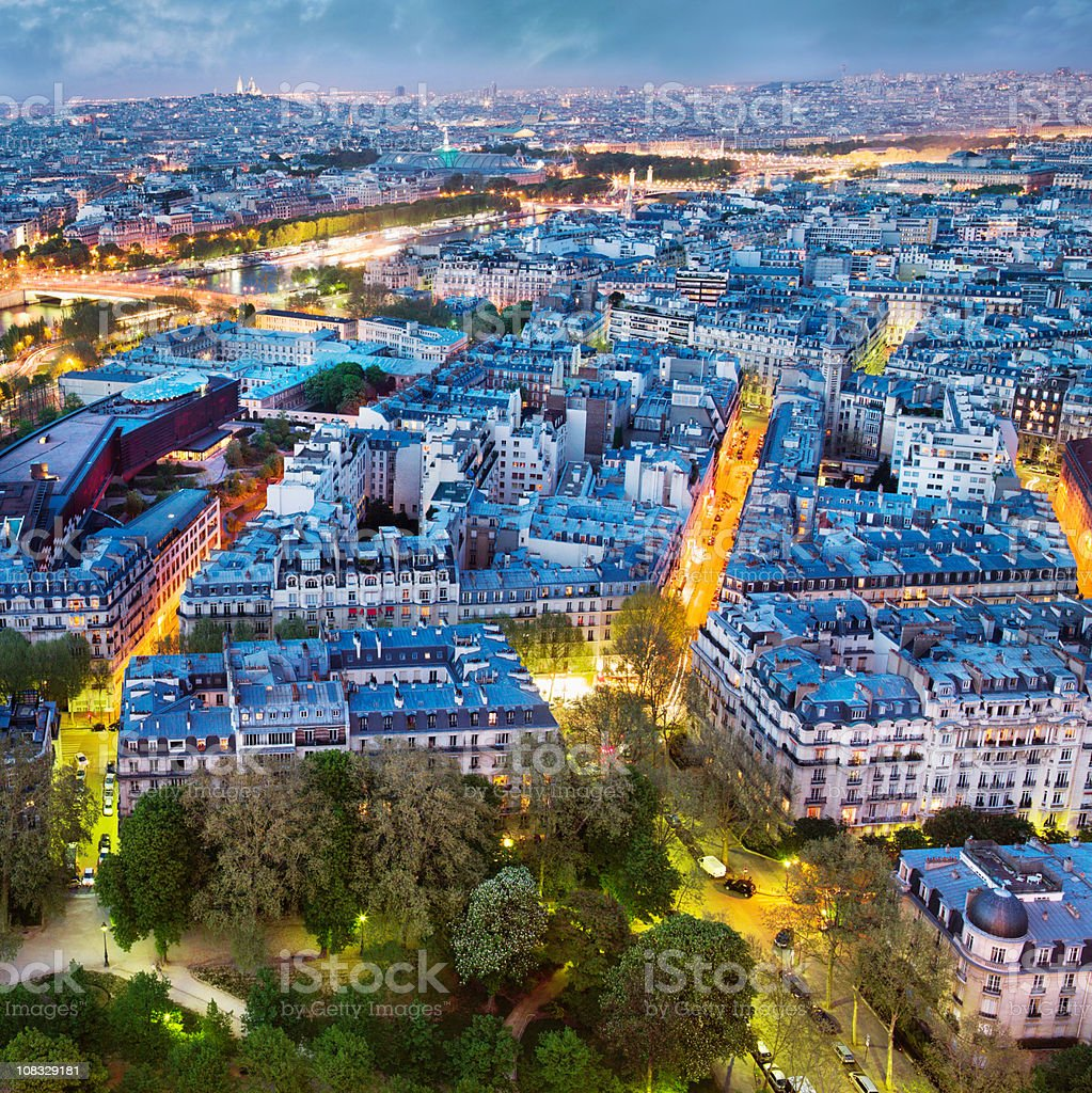 beautiful Paris royalty-free stock photo