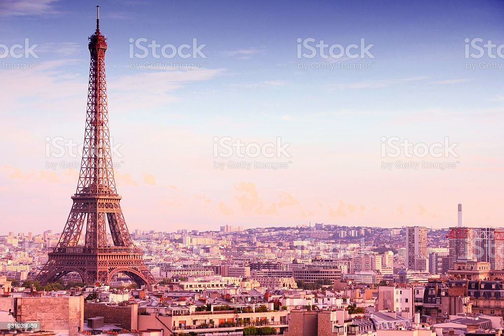 Beautiful Paris stock photo