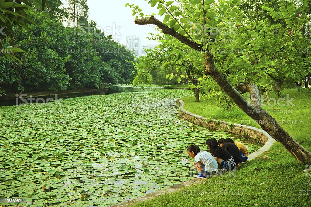 beautiful Park in China royalty-free stock photo