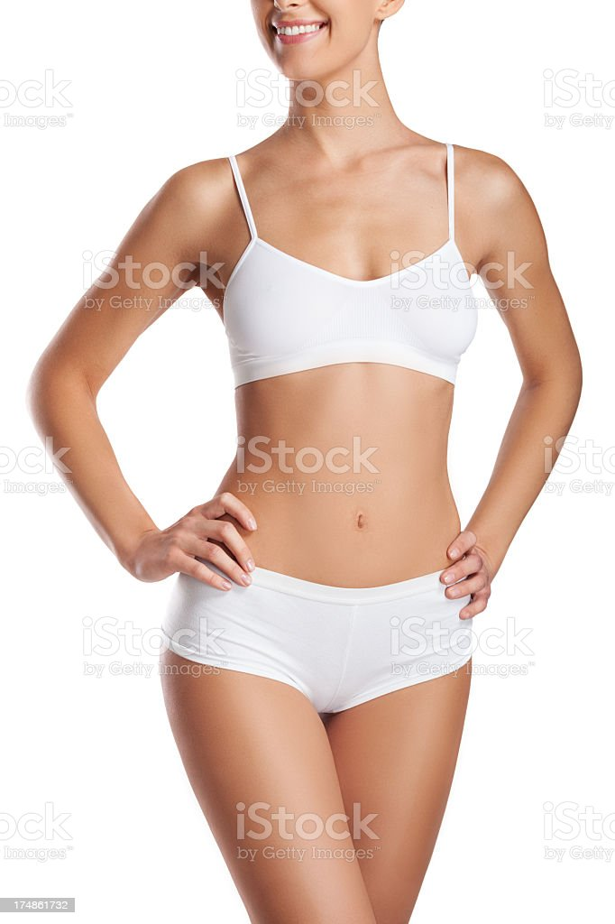 A beautiful perfect body of a woman royalty-free stock photo
