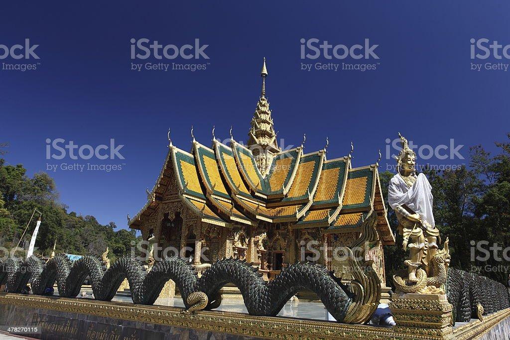 Beautiful Phra-Bhuda-Bata-Sri -roy temple,Thailand royalty-free stock photo