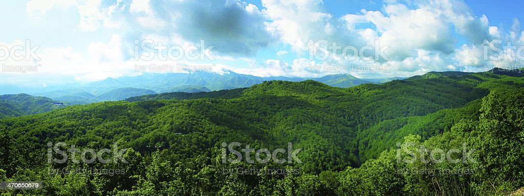 Beautiful picture of mountains stock photo