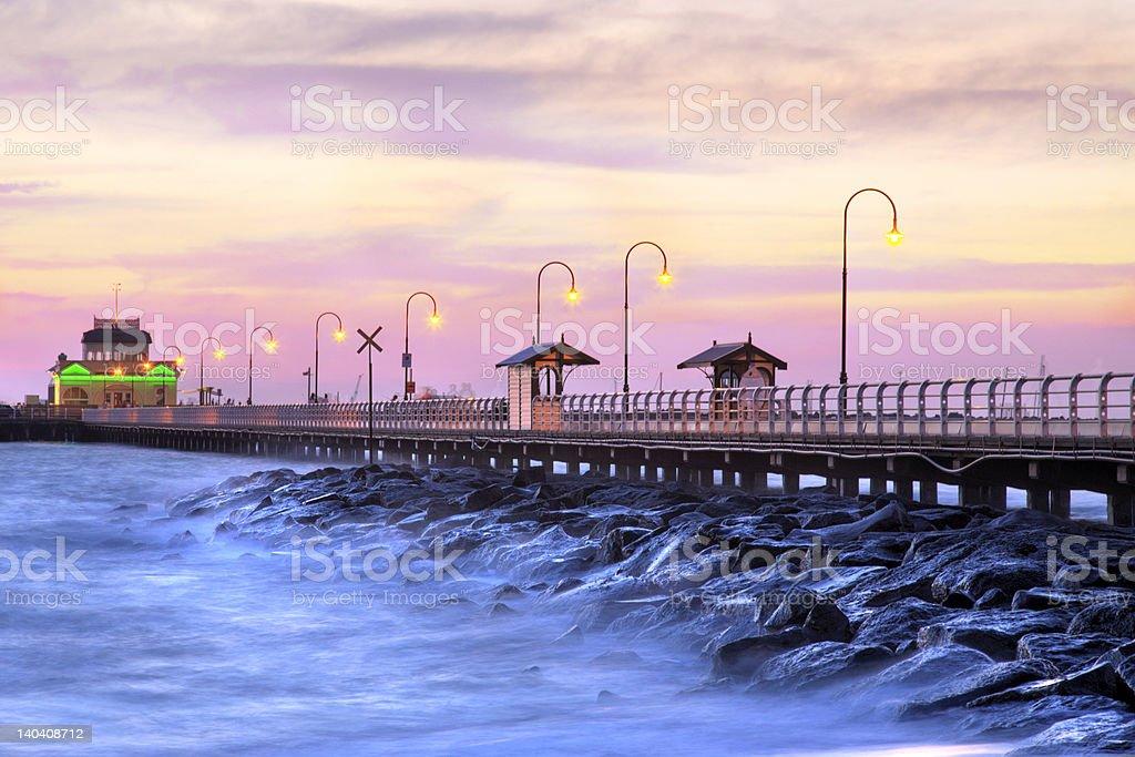 Beautiful Pier royalty-free stock photo