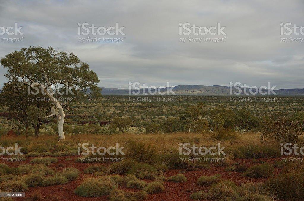 Beautiful Pilbara views in Karijini National Park stock photo