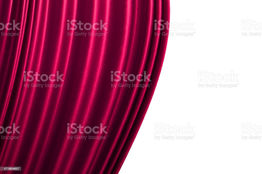 Beautiful pink curtain background. royalty-free stock photo