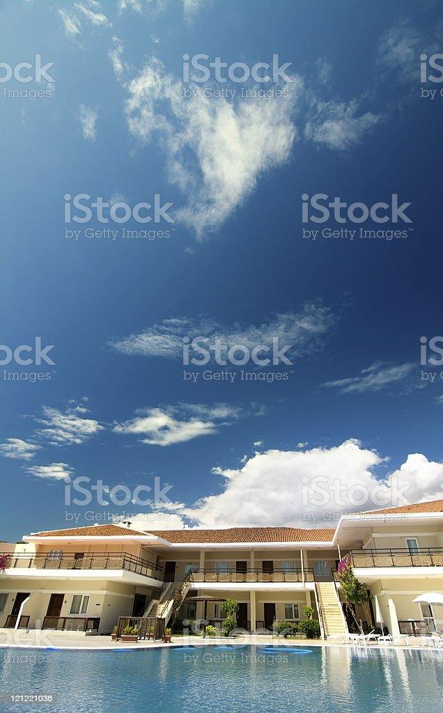 Beautiful place stock photo