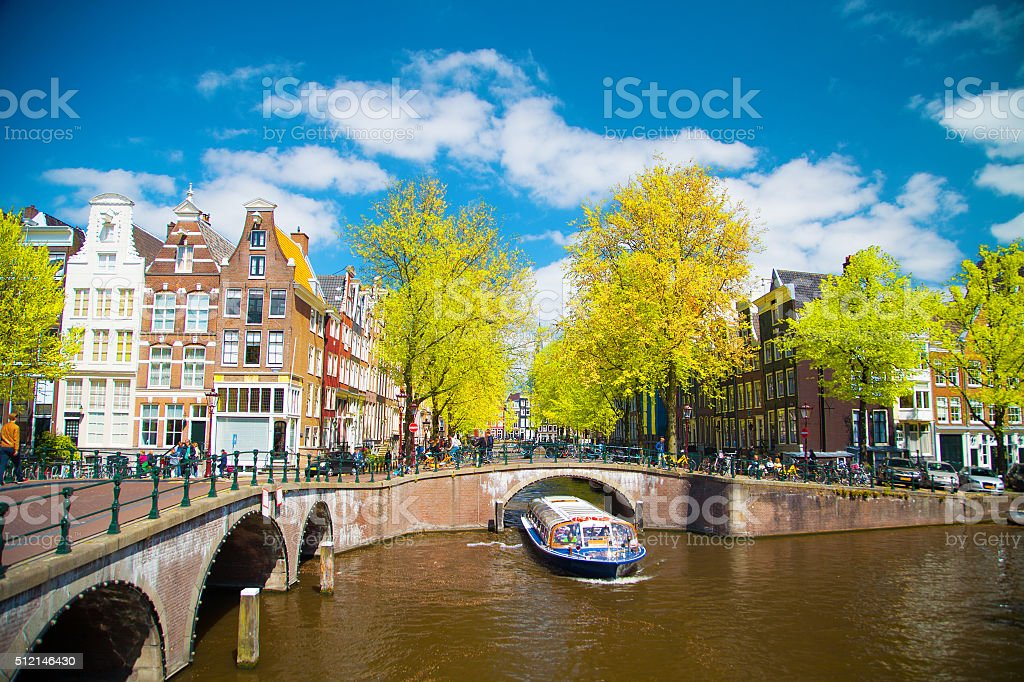 beautiful places in Europe stock photo