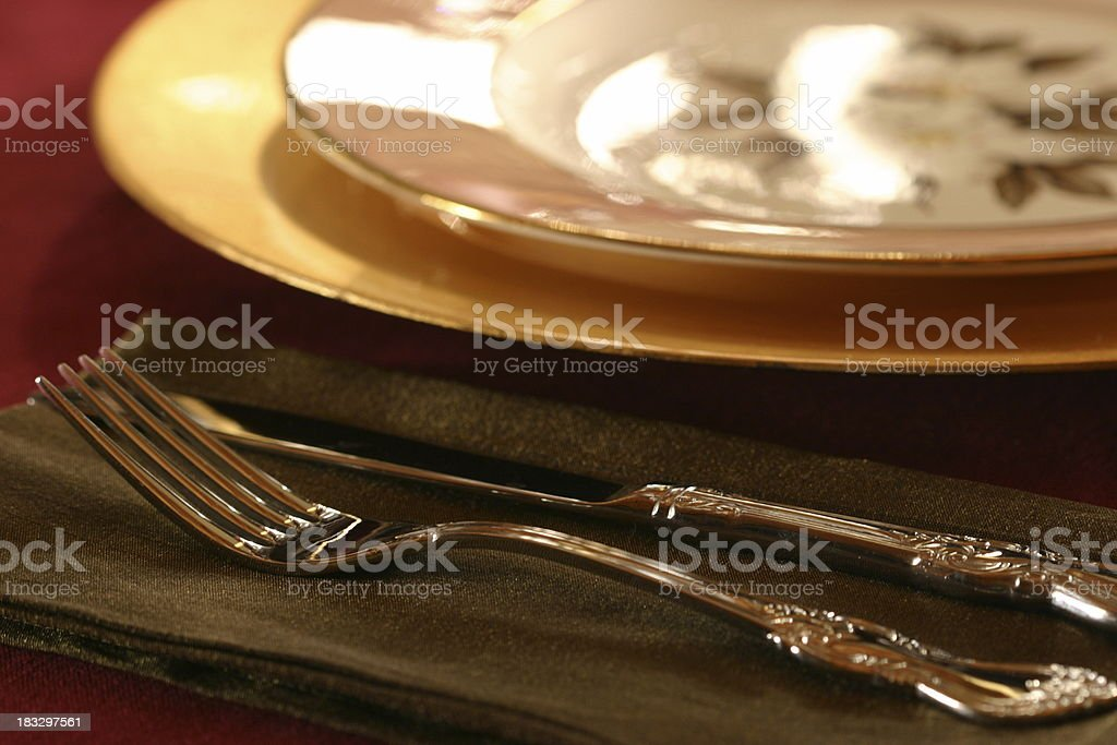 Beautiful Placesetting royalty-free stock photo