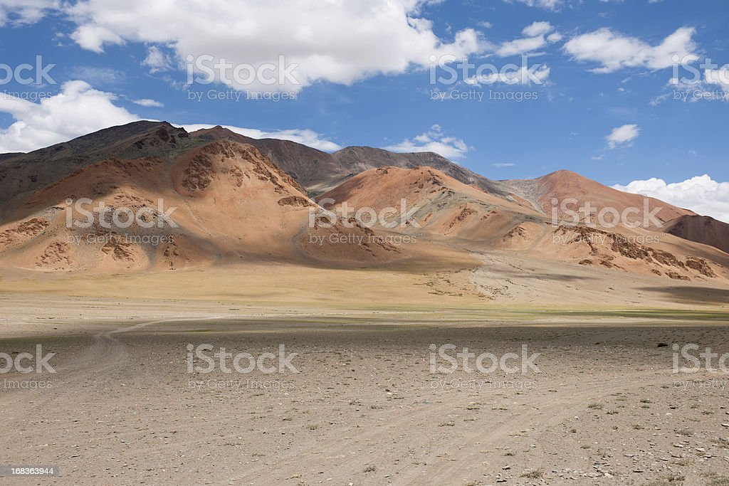 Beautiful Plateau Mora India Cloudy Daytime stock photo