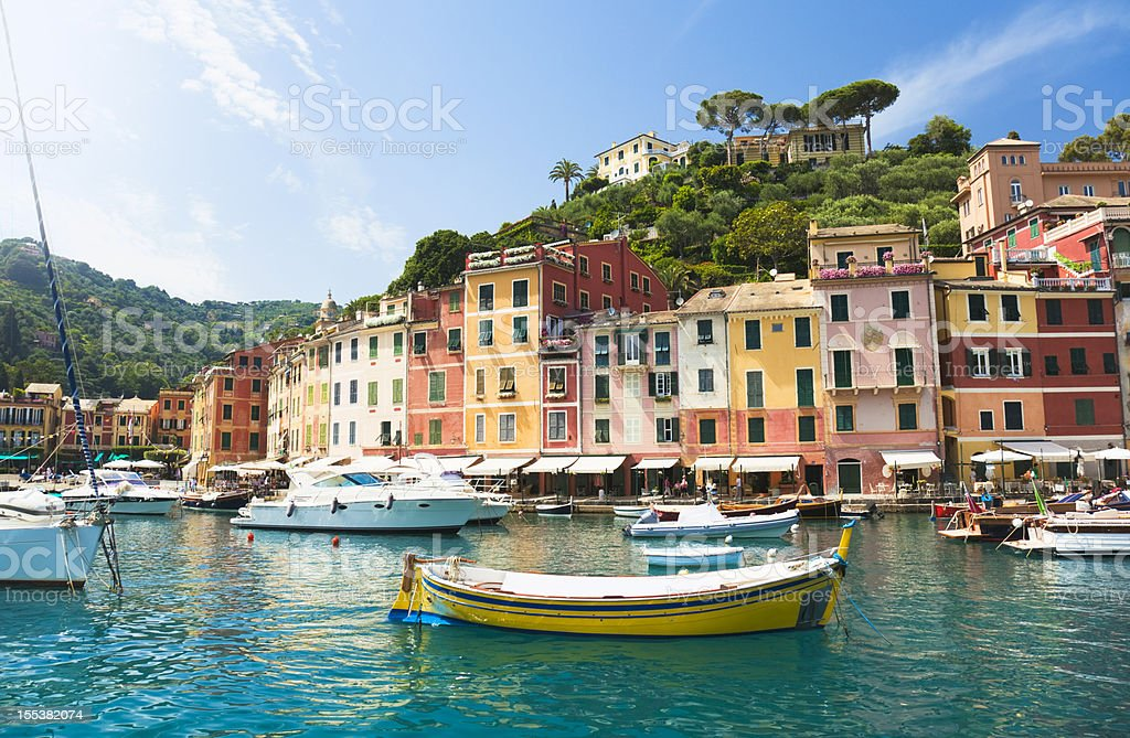 Beautiful Portofino (Liguria, Italy) stock photo