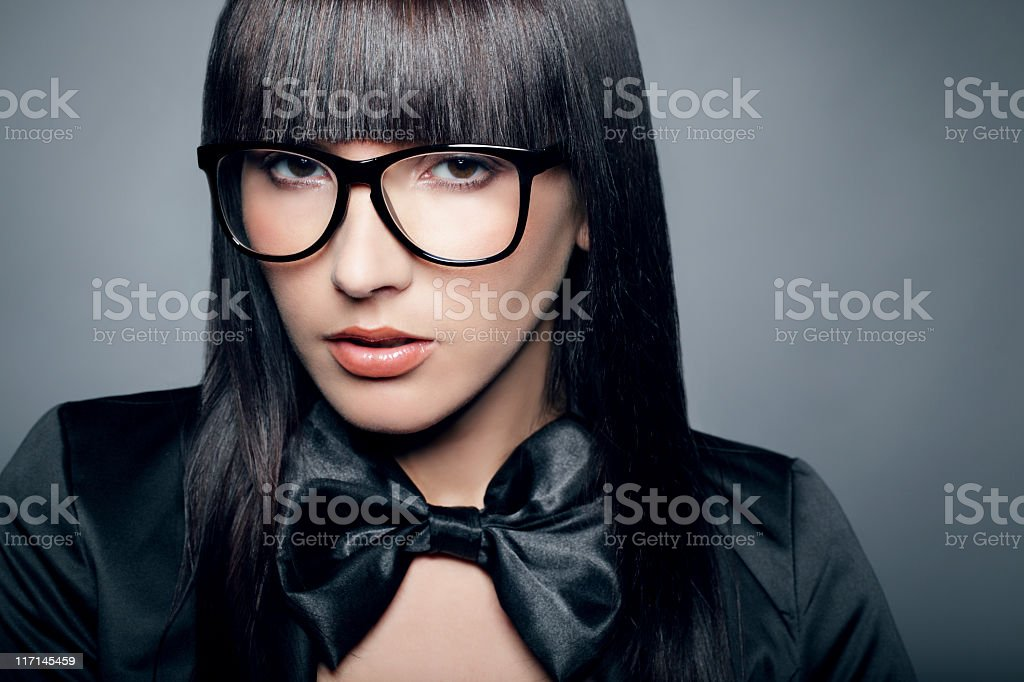 Beautiful Portrait of a Young Woman royalty-free stock photo