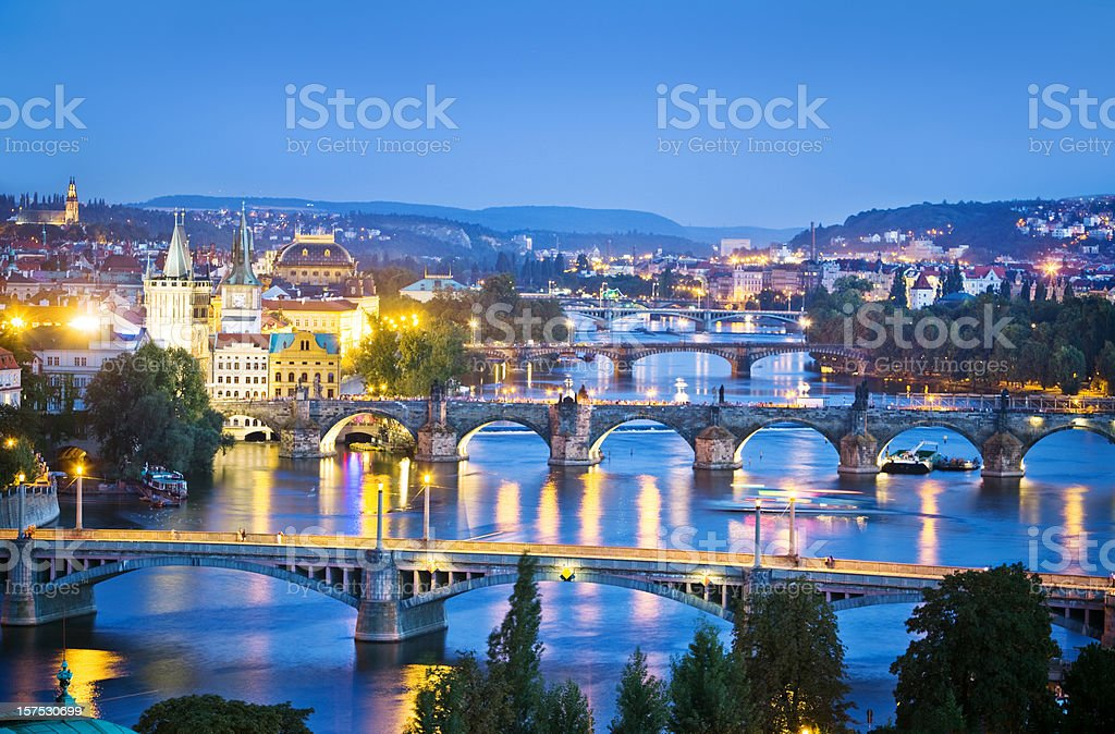 beautiful Prague royalty-free stock photo