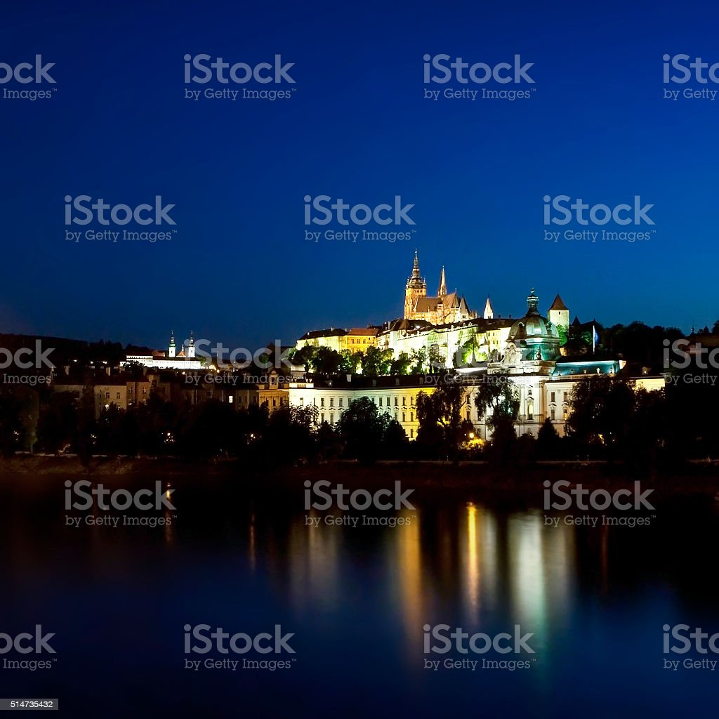 Beautiful Prague stock photo