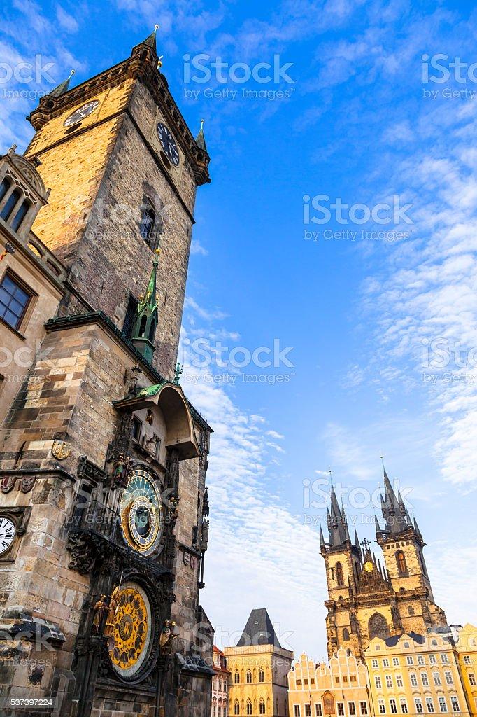 Beautiful Prague,Czech Republic,Europe. stock photo