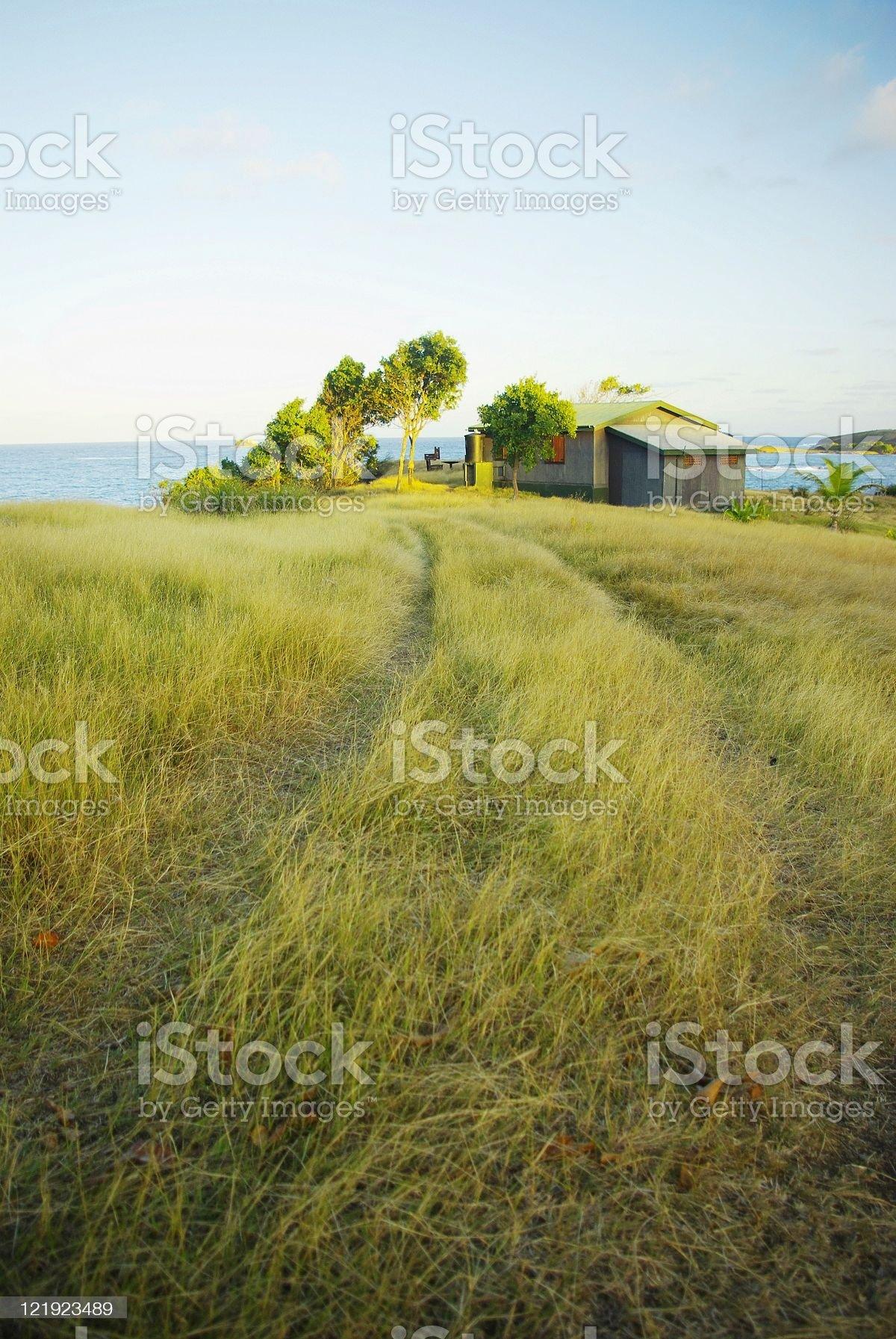 beautiful prairie landscape royalty-free stock photo