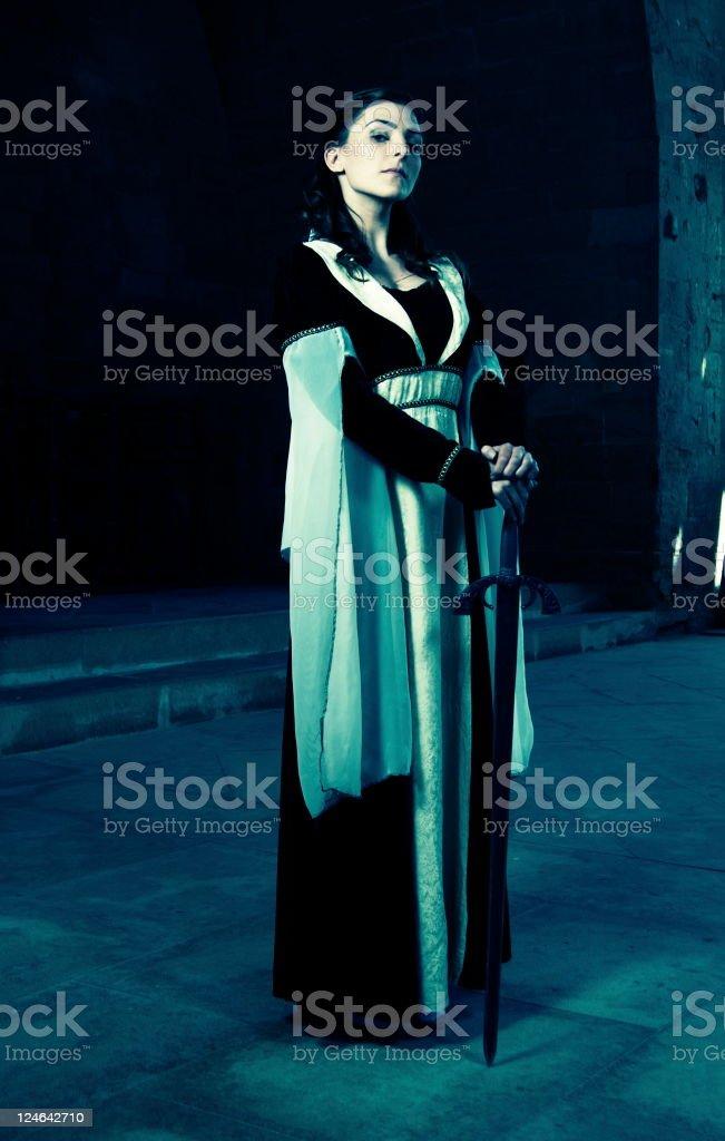 Beautiful Princess royalty-free stock photo