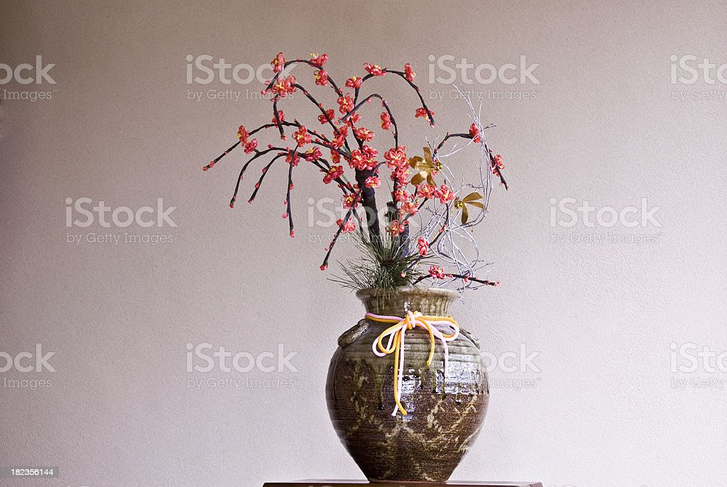 Beautiful Recycled Art stock photo
