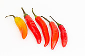 Beautiful red chilies