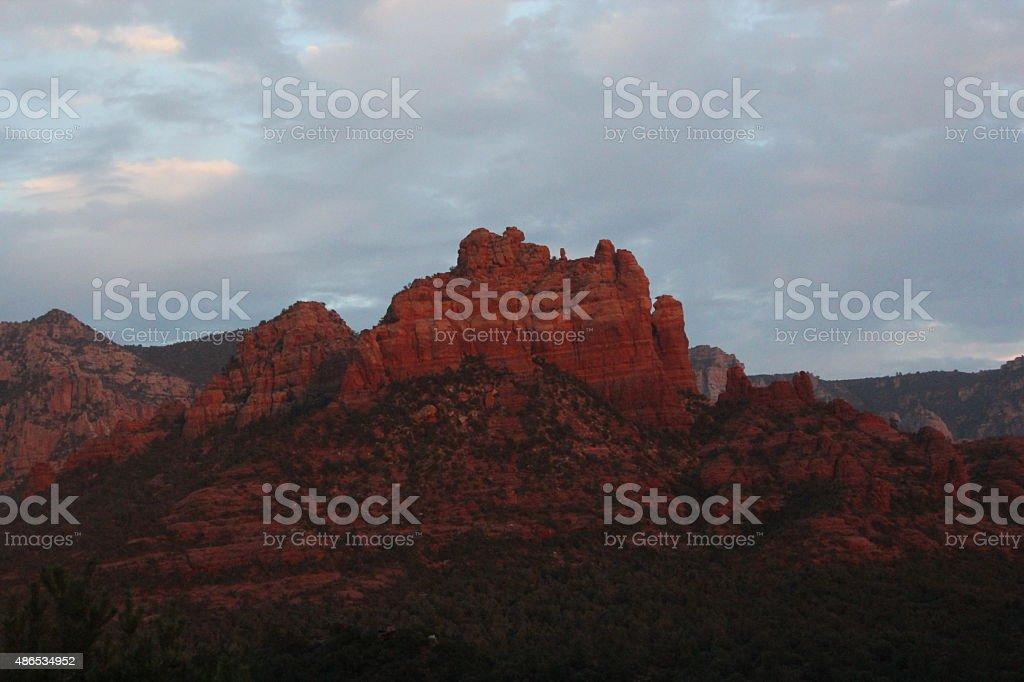 Hermosas montañas rojas de Sedona, Arizona, Estados Unidos foto de stock libre de derechos