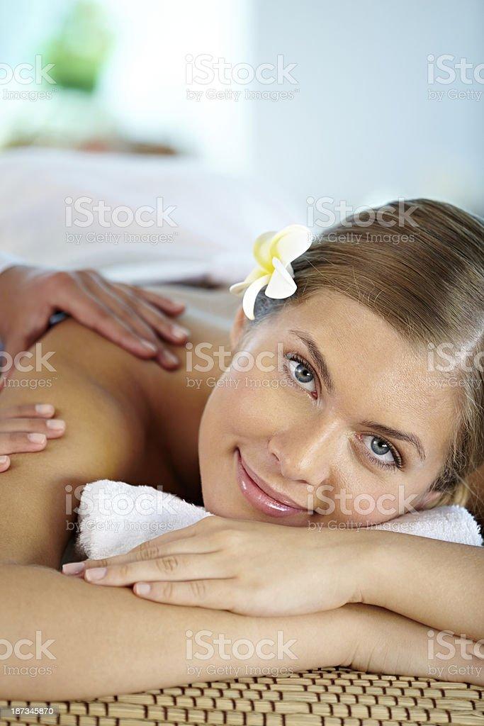 Beautiful relaxation royalty-free stock photo