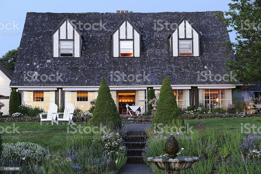 Beautiful Restaurant royalty-free stock photo