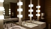 Beautiful restroom.