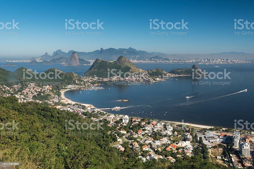 Beautiful Rio de Janeiro Landscape stock photo
