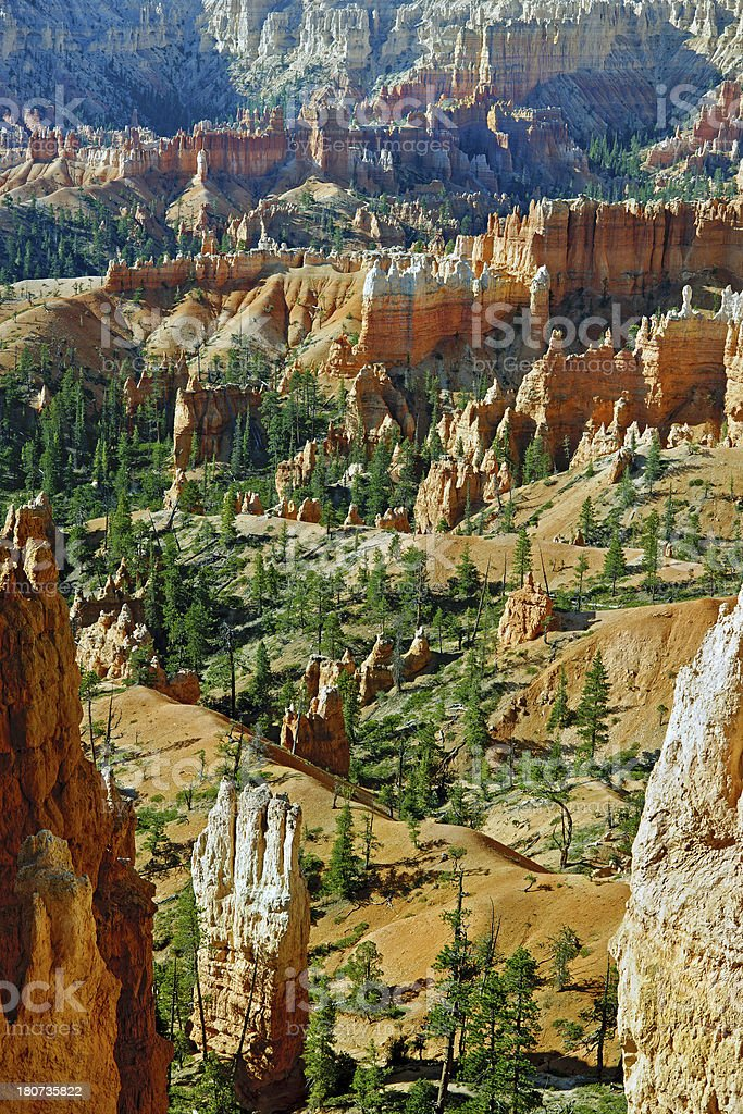 Beautiful Rock Formation in Bryce Canyon Utah Usa royalty-free stock photo
